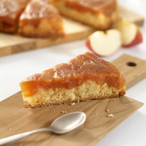 Caramelized Apple Pound Cake