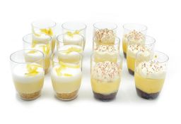 Assorted Italian Dessert Shots