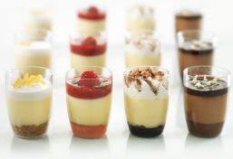 Mini Dessert Cups With Spoons