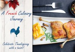 A French Culinary Journey Food Basket
