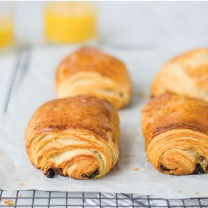 6 French Butter Chocolate Croissants