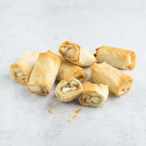 Goat Cheese and Fig Fillo Rolls