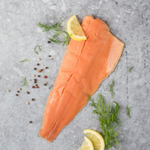 Skin-On Rainbow Trout Fillet