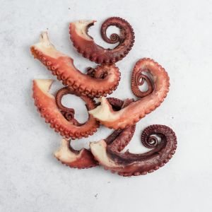 Cooked Small Octopus Tentacles