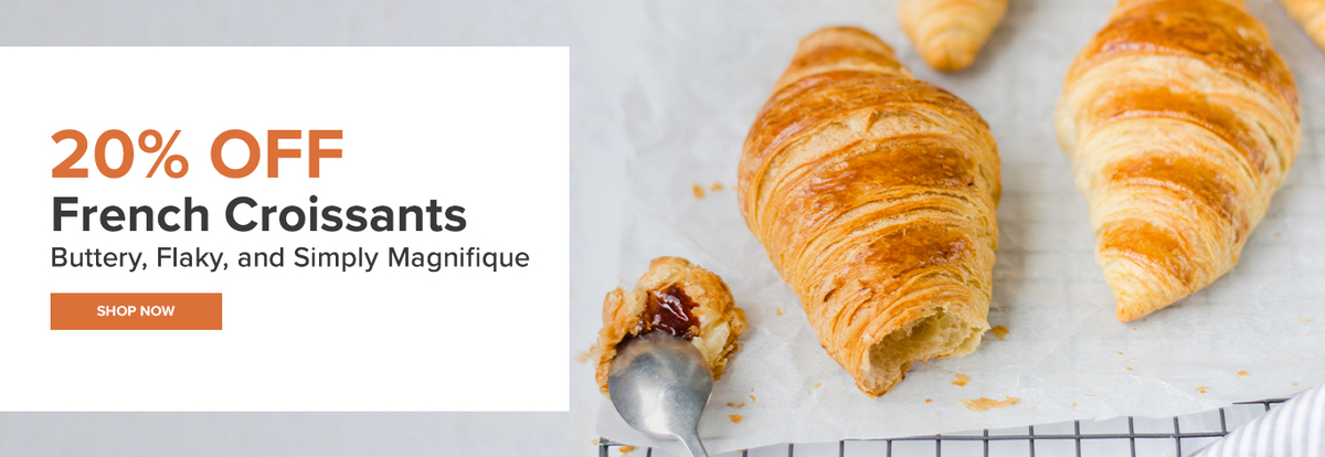 Cuisinery 20% OFF Croissant Promotion