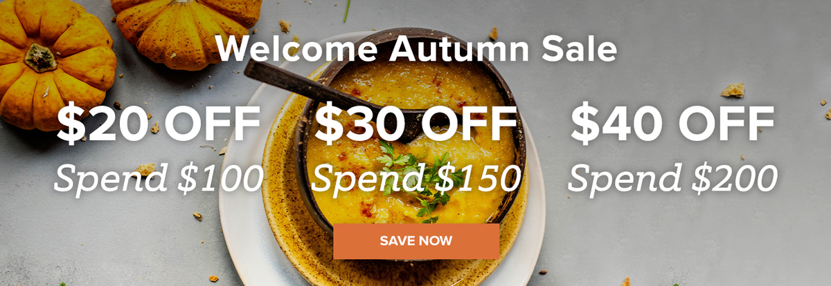 Welcome Autumn Sale: Buy More, Save More!